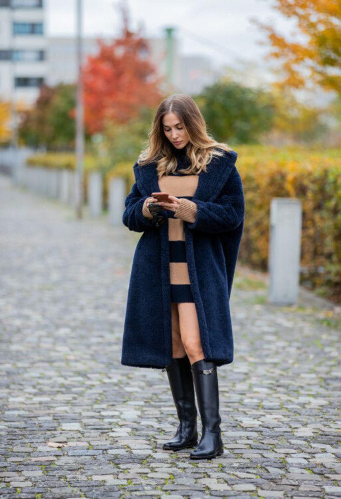 Сукні та чоботи: кращі поєднання на осінь і зиму 14