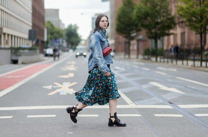 Сукні та чоботи: кращі поєднання на осінь і зиму 16