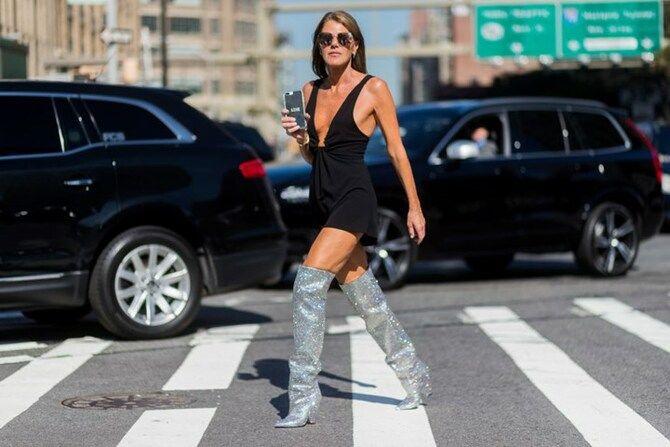 Сукні та чоботи: кращі поєднання на осінь і зиму 18