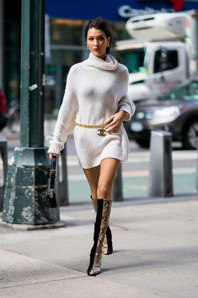 Сукні та чоботи: кращі поєднання на осінь і зиму 20