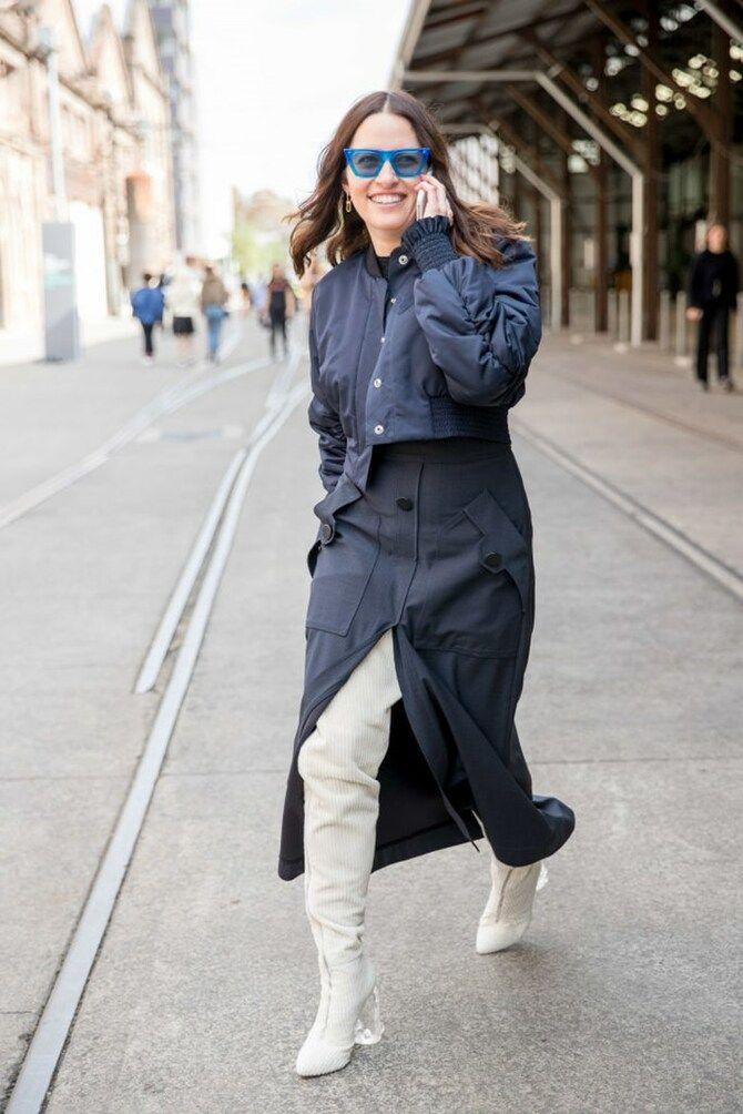 Сукні та чоботи: кращі поєднання на осінь і зиму 27