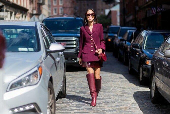 Сукні та чоботи: кращі поєднання на осінь і зиму 28