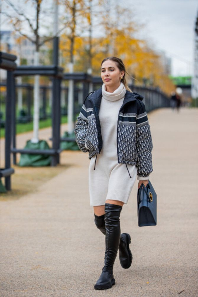 Сукні та чоботи: кращі поєднання на осінь і зиму 4