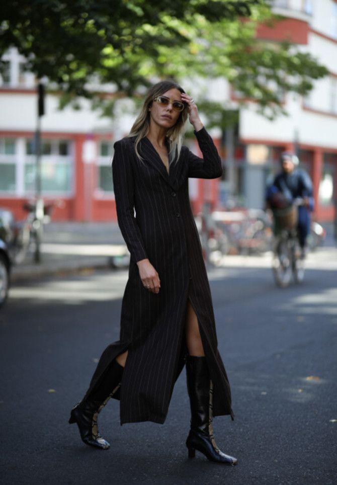 Сукні та чоботи: кращі поєднання на осінь і зиму 5