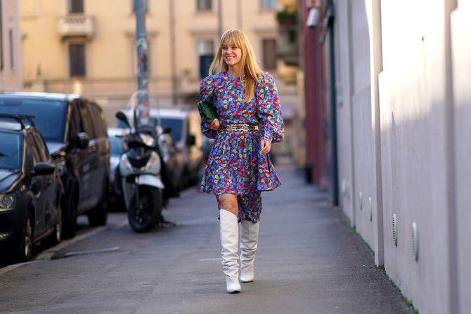 Сукні та чоботи: кращі поєднання на осінь і зиму 6