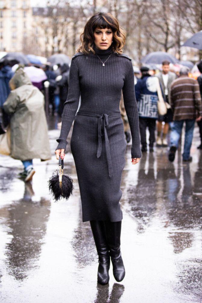 Сукні та чоботи: кращі поєднання на осінь і зиму 7