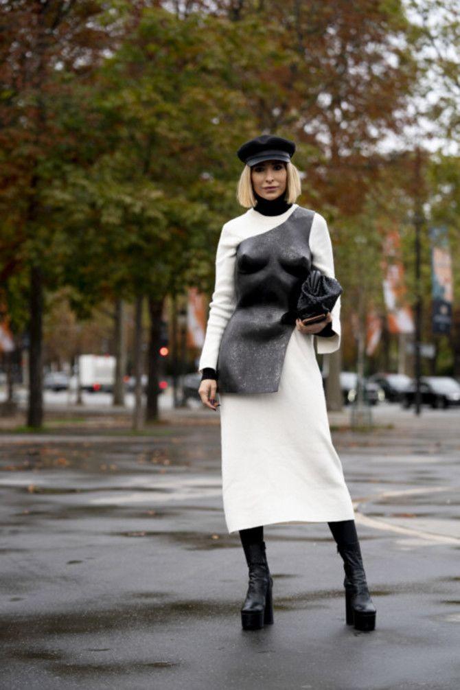 Сукні та чоботи: кращі поєднання на осінь і зиму 8
