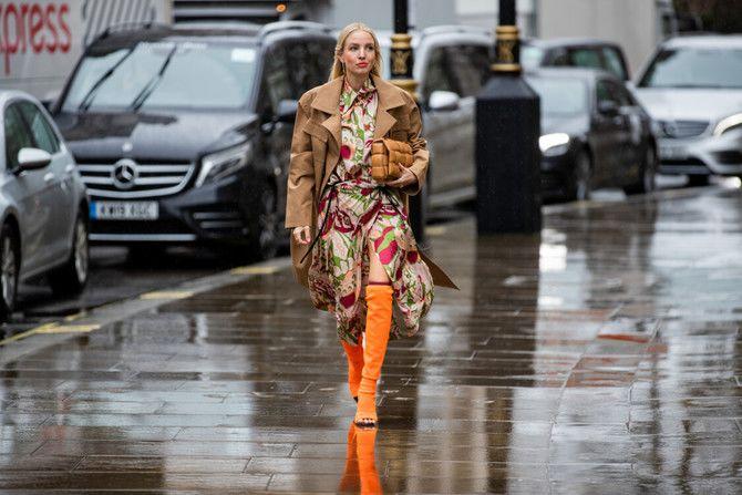 Сукні та чоботи: кращі поєднання на осінь і зиму 9