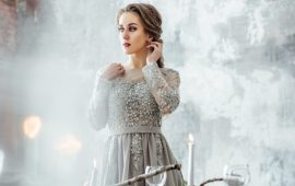Gray evening dresses at the hottest new trend – what styles to choose