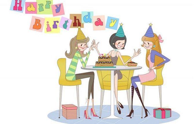 Поздравления с Днем рождения знакомой своими словами 2