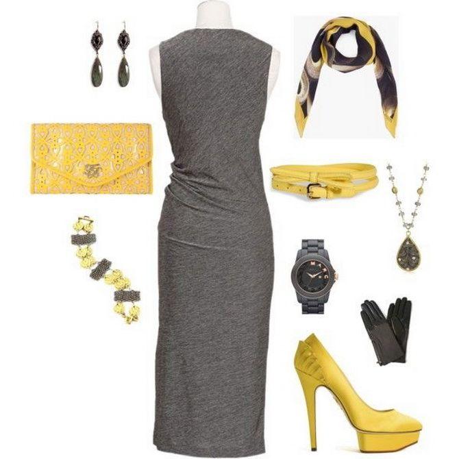 Сірі вечірні сукні на піку популярності – які фасони вибирати 30