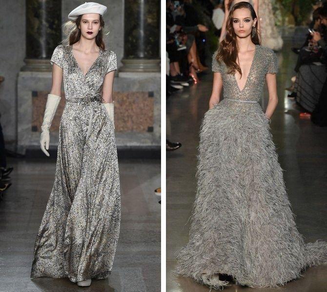 Сірі вечірні сукні на піку популярності – які фасони вибирати 4