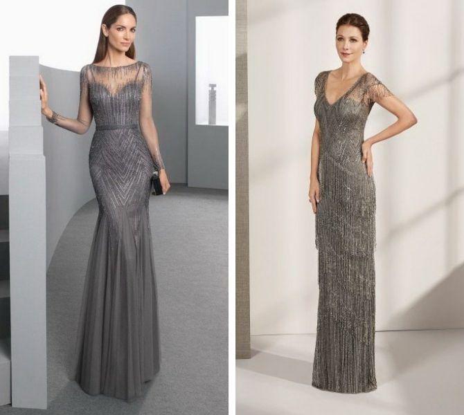 Сірі вечірні сукні на піку популярності – які фасони вибирати 6