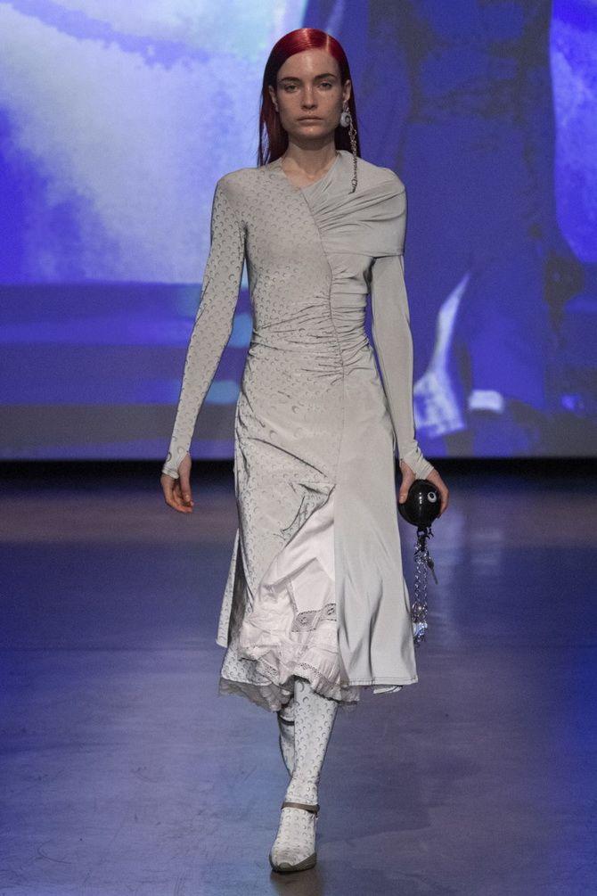Сірі вечірні сукні на піку популярності – які фасони вибирати 9