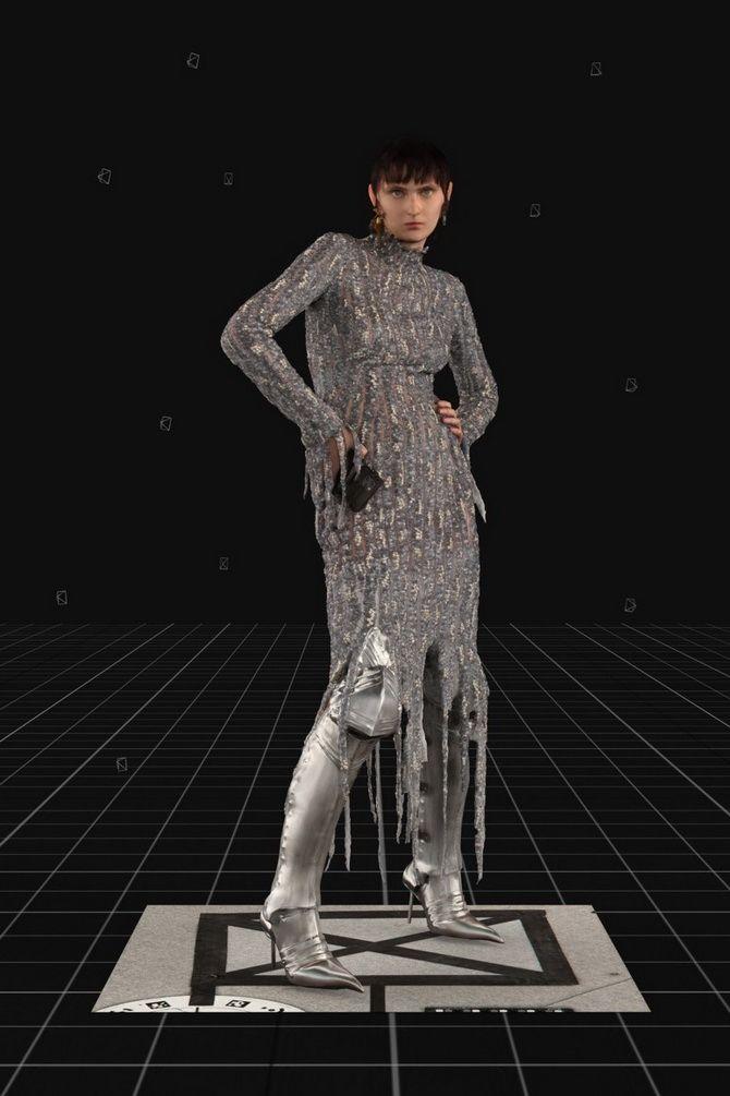 Сірі вечірні сукні на піку популярності – які фасони вибирати 10