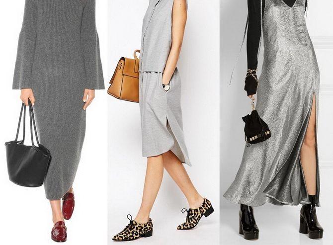 Сірі вечірні сукні на піку популярності – які фасони вибирати 25
