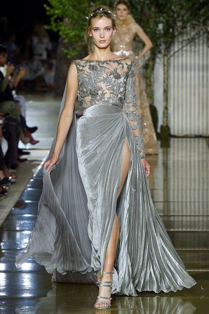 Сірі вечірні сукні на піку популярності – які фасони вибирати 21