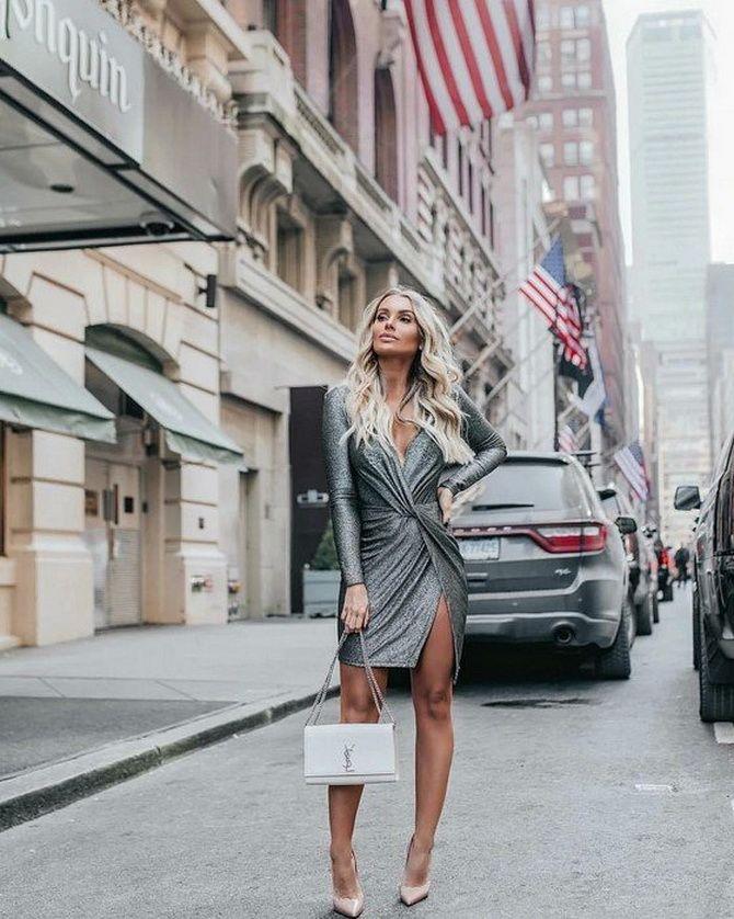 Сірі вечірні сукні на піку популярності – які фасони вибирати 23
