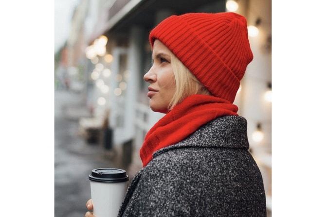 Как правильно подобрать шапку и шарф: ключевые сочетания 14