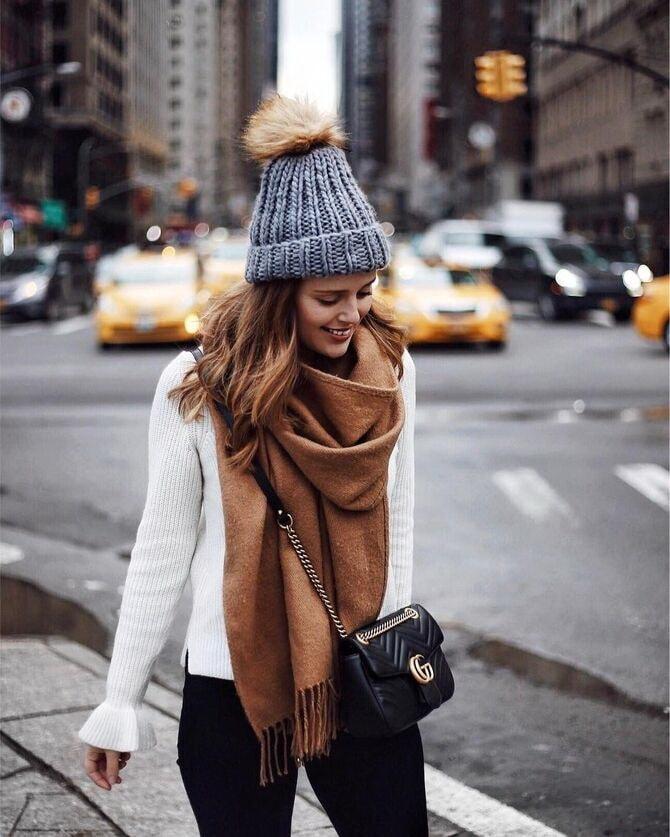 Как правильно подобрать шапку и шарф: ключевые сочетания 20