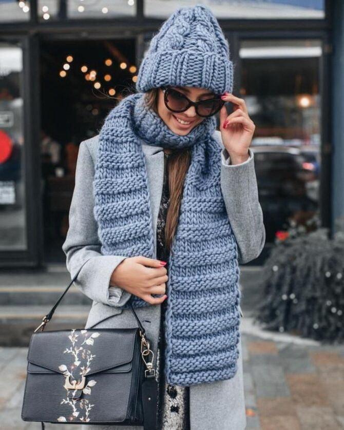 Как правильно подобрать шапку и шарф: ключевые сочетания 29