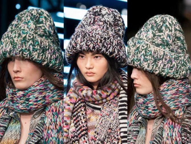Как правильно подобрать шапку и шарф: ключевые сочетания 31