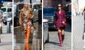 Сукні та чоботи: кращі поєднання на осінь і зиму