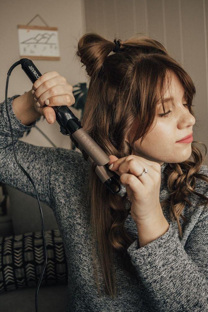 Удачные зимние прически под шапку: советы и идеи как избежать шляпных волос 23