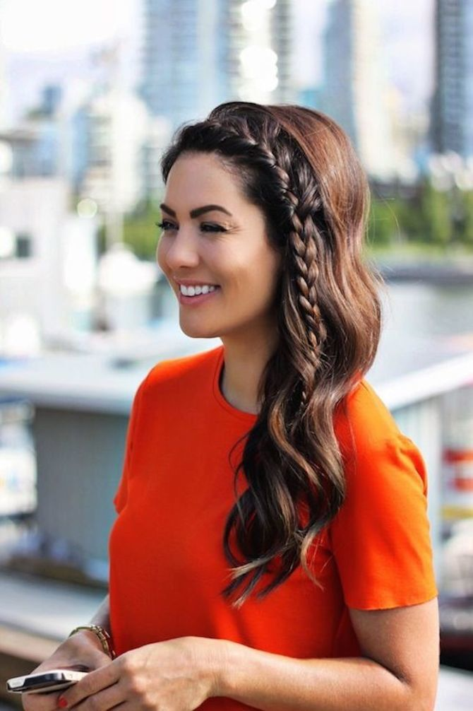 Удачные зимние прически под шапку: советы и идеи как избежать шляпных волос 25