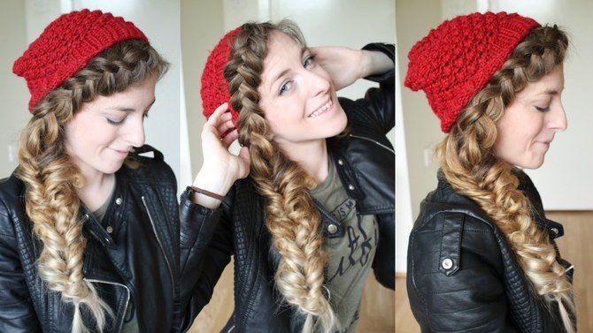 Удачные зимние прически под шапку: советы и идеи как избежать шляпных волос 26