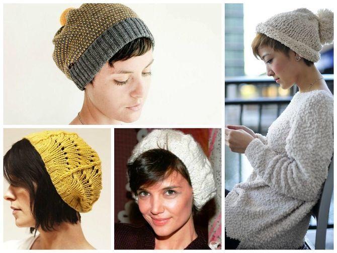 Удачные зимние прически под шапку: советы и идеи как избежать шляпных волос 29