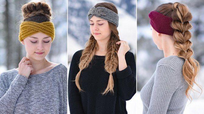 Удачные зимние прически под шапку: советы и идеи как избежать шляпных волос 2