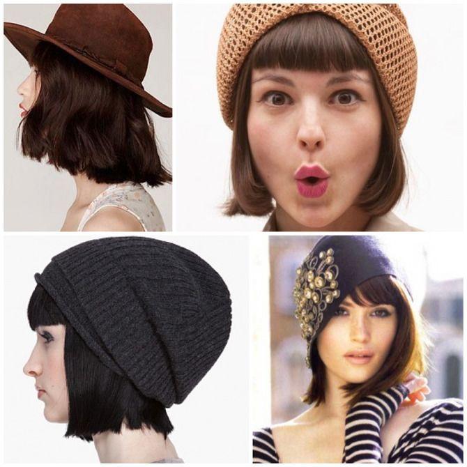 Удачные зимние прически под шапку: советы и идеи как избежать шляпных волос 32