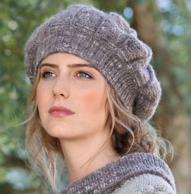 Удачные зимние прически под шапку: советы и идеи как избежать шляпных волос 36