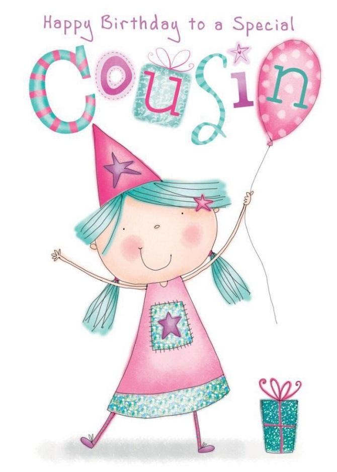 Привітання з днем народження двоюрідній сестрі в віршах, прозі, картинках 6