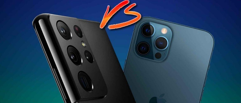 Samsung Galaxy S21 или Apple iPhone 12: Что выбрать?