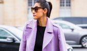 Сиреневый цвет – как носить в 2021 году?