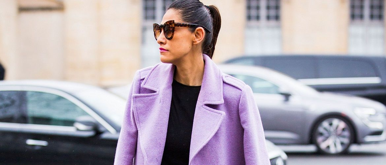 Бузковий колір – як носити в 2021 році?