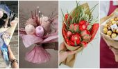 Букет на 8 марта своими руками: креативные идеи из бумаги, из конфет, из подручных материалов