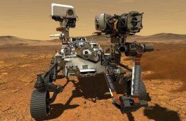 На Марсе высадился американский ровер Perseverance: исторический момент