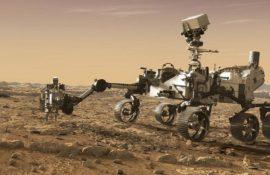 Марсоход NASA Perseverance прислал на Землю первое видео и аудио с Марса