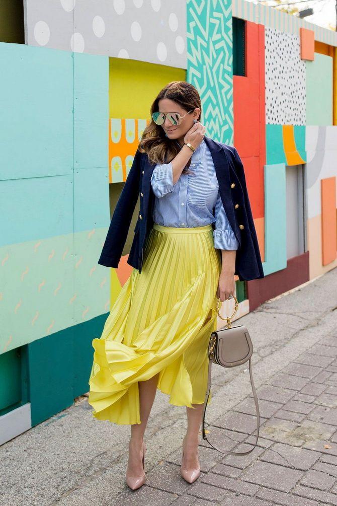 С чем носить желтый цвет– самый актуальный тренд 2021 года? 10