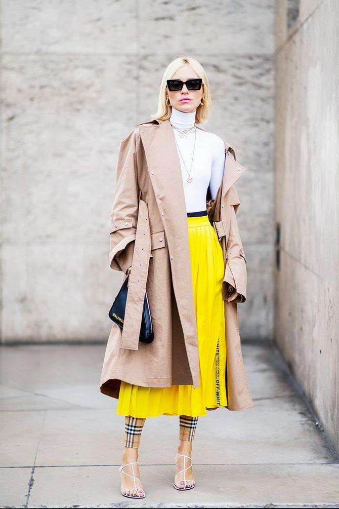 С чем носить желтый цвет– самый актуальный тренд 2021 года? 20