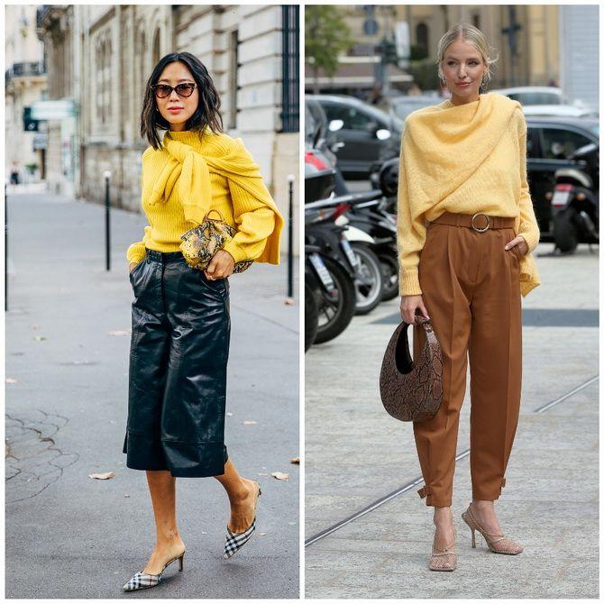С чем носить желтый цвет– самый актуальный тренд 2021 года? 28