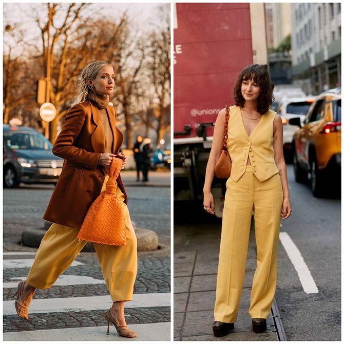С чем носить желтый цвет– самый актуальный тренд 2021 года? 30