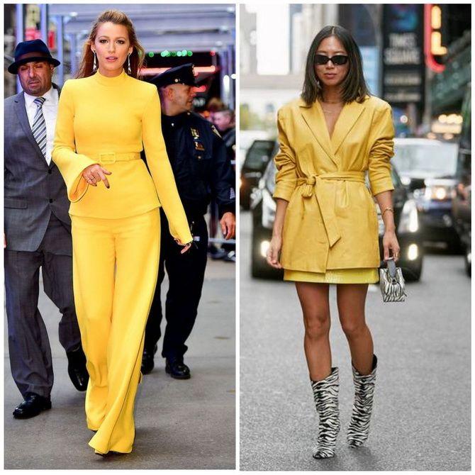 С чем носить желтый цвет– самый актуальный тренд 2021 года? 33