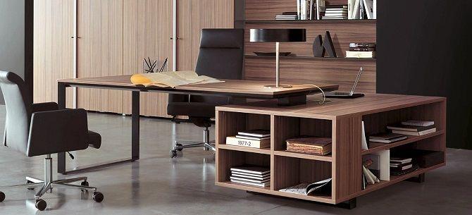 Стилистика кабинета руководителя: как подобрать мебель 1