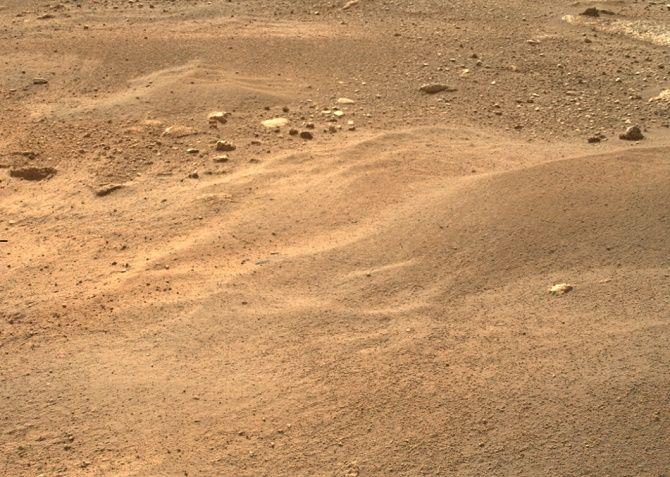 Марсохід NASA Perseverance надіслав на Землю перше відео і аудіо з Марса 1