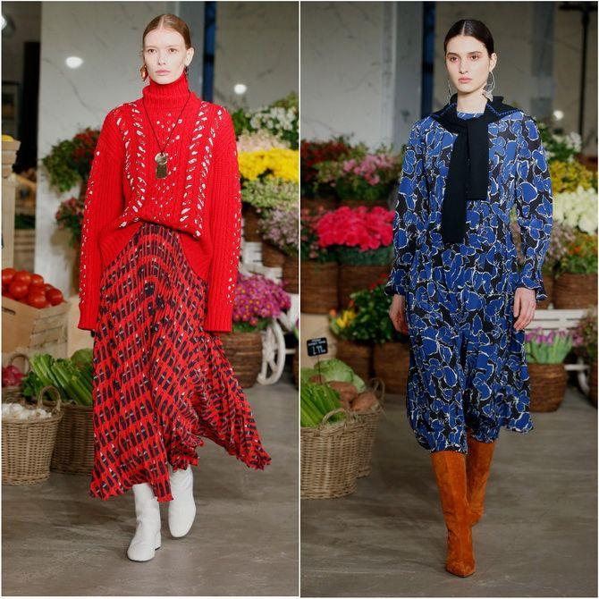Неделя моды в Нью-Йорке: модные коллекции осень-зима 2021-2022 2