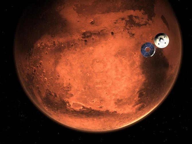 На Марсі висадився американський ровер Perseverance: історичний момент 5
